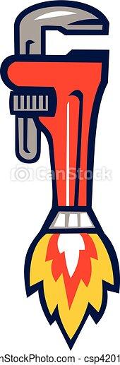 Lanzacohetes retro - csp42017110