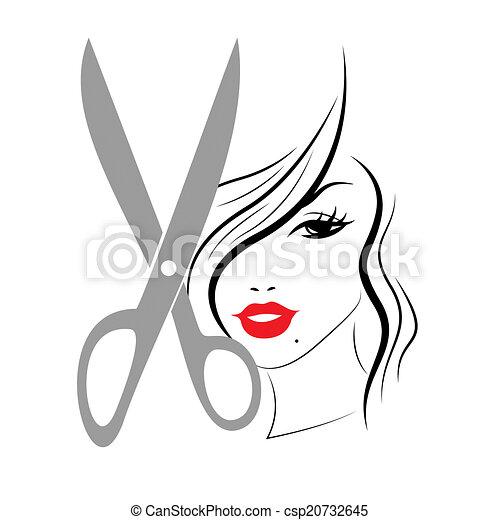 coiffure femme cheveux personne adulte spectacles dessin rechercher des illustrations. Black Bedroom Furniture Sets. Home Design Ideas