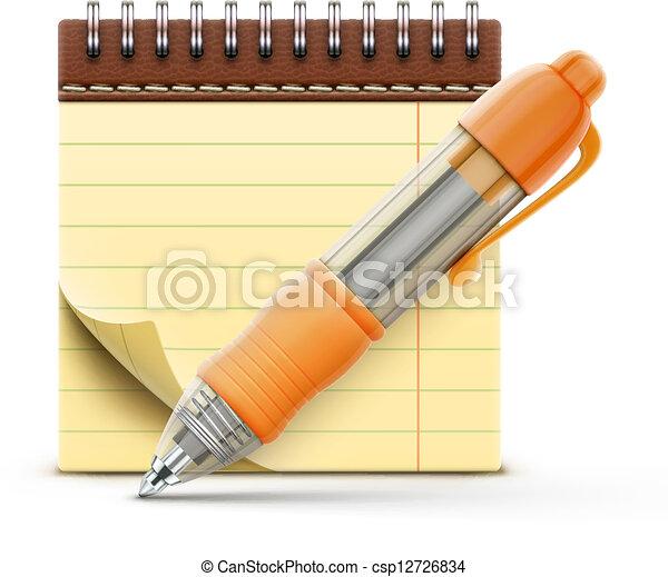 coil bound notebook  - csp12726834