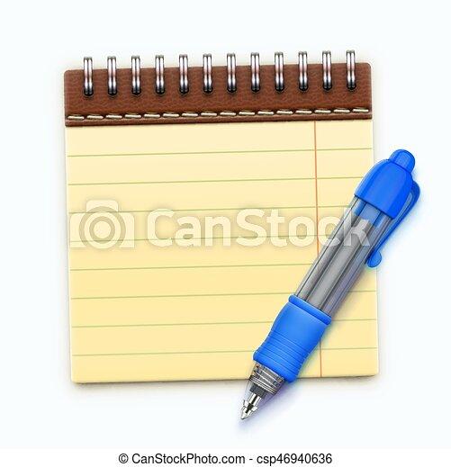 Coil bound notebook - csp46940636