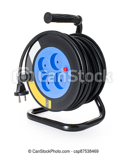 coil, electrical extension cord - csp87538469