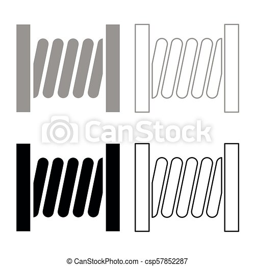 Amazing Coiled Copper Wire Clip Art Motif - Simple Wiring Diagram ...
