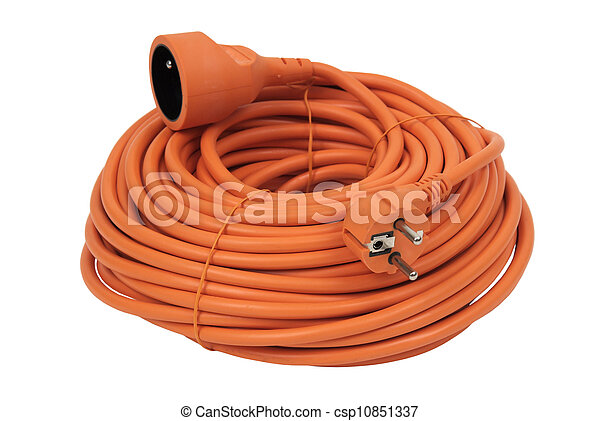 Coiled Extension Cord - csp10851337