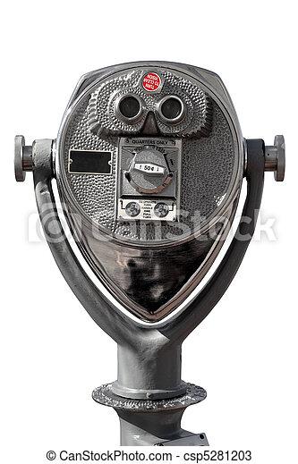 Coin-operated binoculars - csp5281203