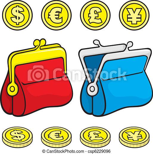 Coin purse wallet - csp6229096