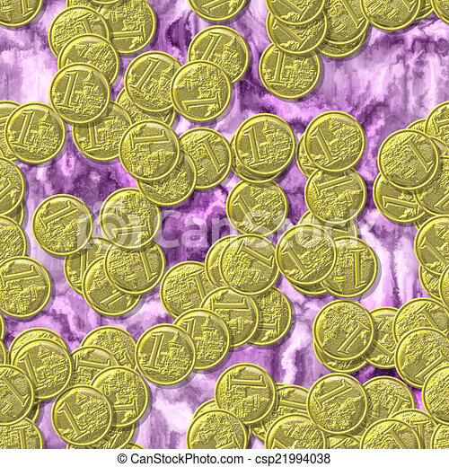 Coin seamless generated texture background - csp21994038