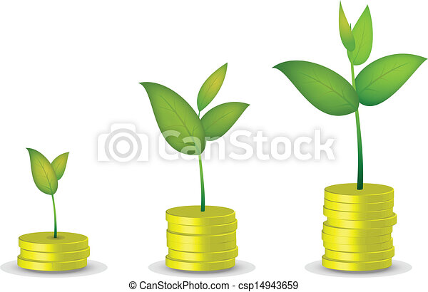 Coin tree grow - csp14943659