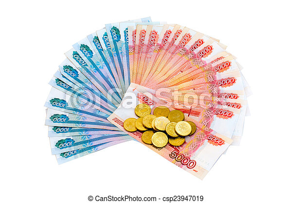 Coins and money - csp23947019