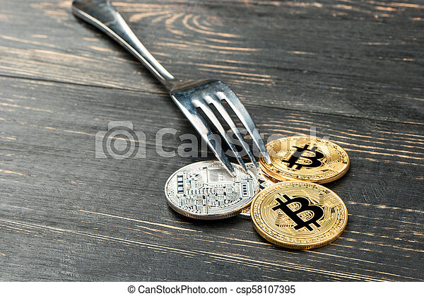 Coins bitcoin with fork - csp58107395