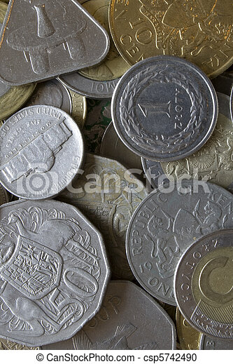 Coins from around the world - csp5742490