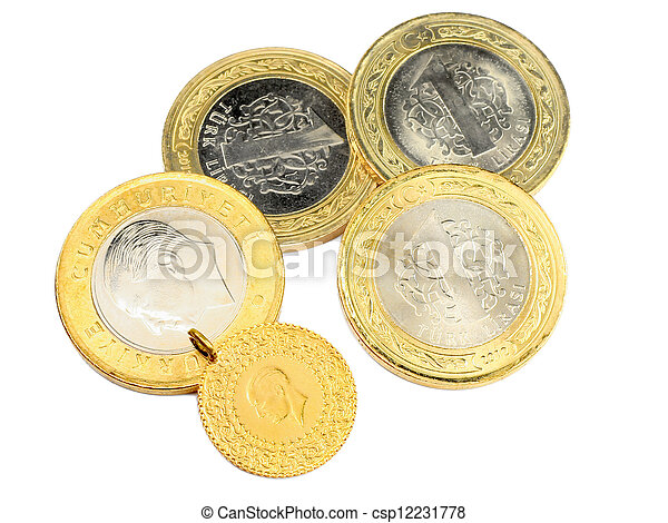 Coins - csp12231778