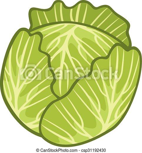 col, verde, ilustración - csp31192430