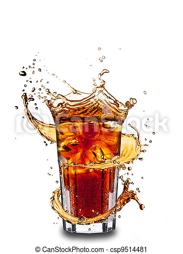 Cola drink - csp9514481