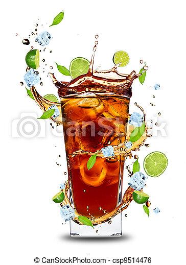 Cola drink - csp9514476