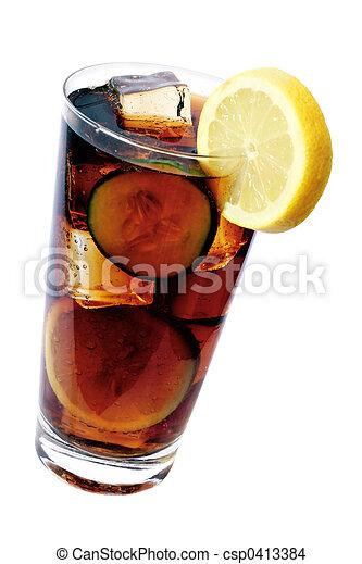 Cola Drink - csp0413384