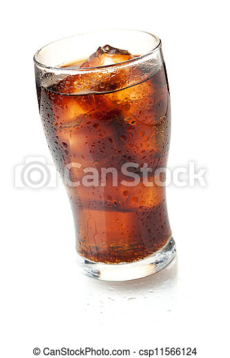 Cola glass - csp11566124