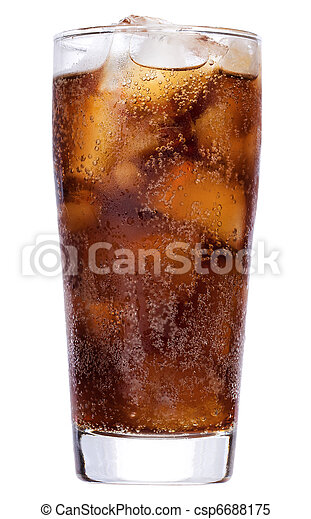 cola with ice - csp6688175