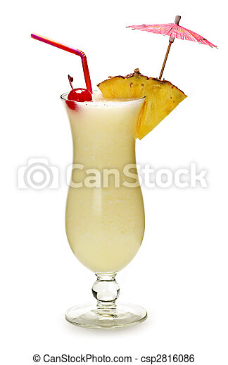 colada, pina, cocktail - csp2816086