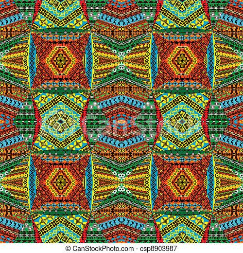 colagem, têxtil, patchworks, feito - csp8903987