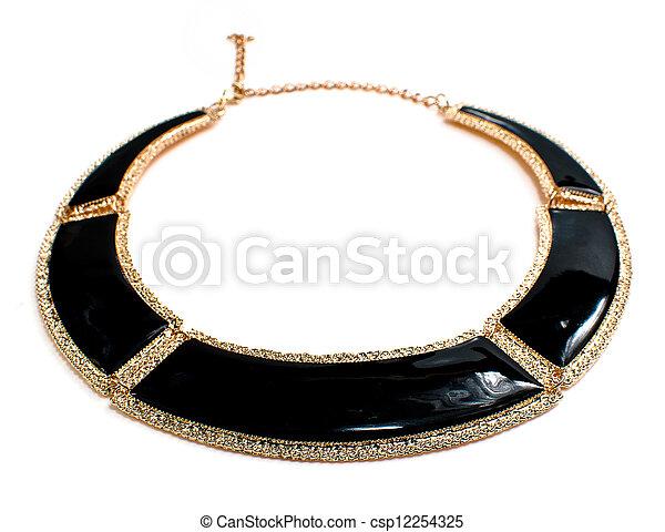 colar, jóia - csp12254325
