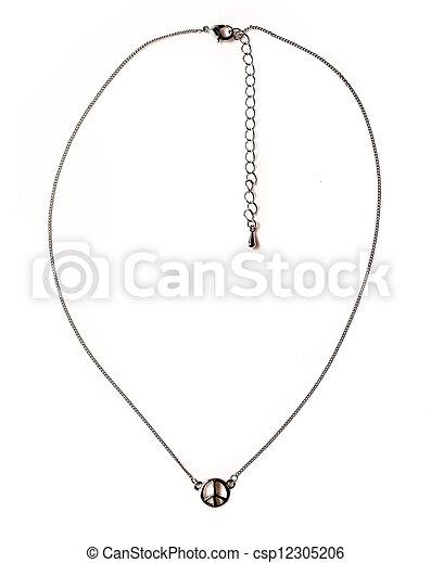 colar, jóia - csp12305206