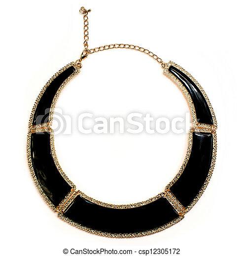 colar, jóia - csp12305172
