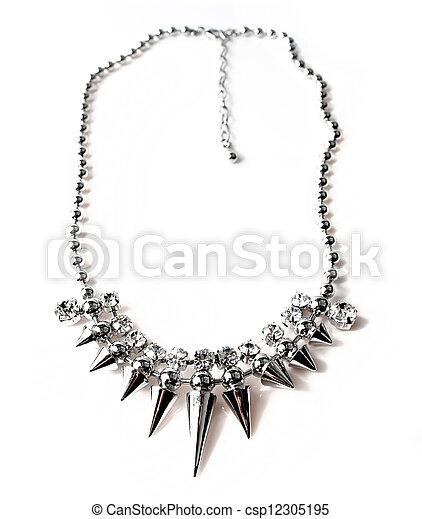 colar, jóia - csp12305195
