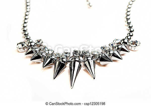 colar, jóia - csp12305198