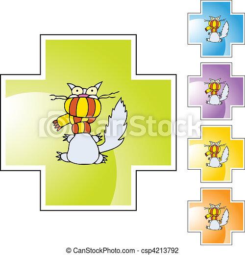 Cold Cat - csp4213792