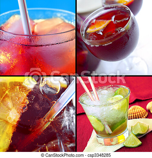 Cold Drinks - csp3348285