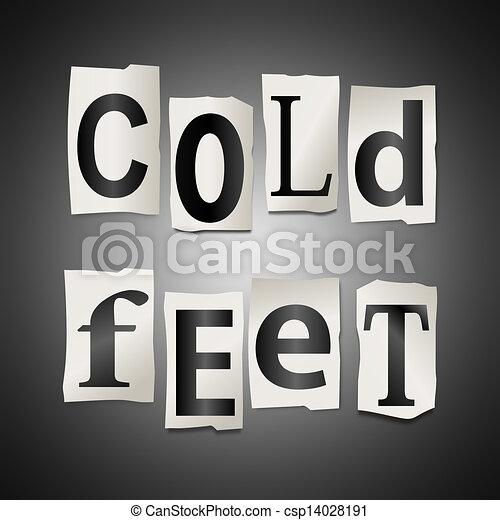 Cold Feet Clip Art