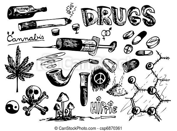 Coleccion de drogas - csp6870361