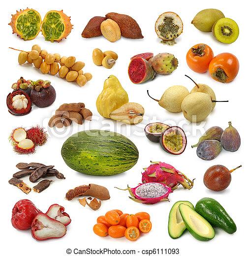 Colección de frutas - csp6111093