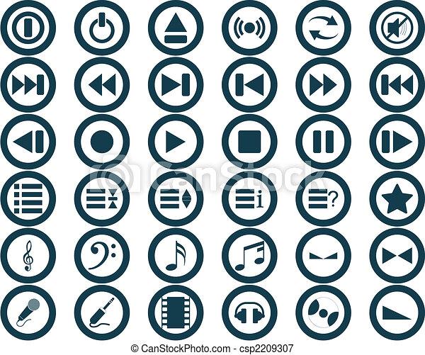 La colección de Icones - csp2209307
