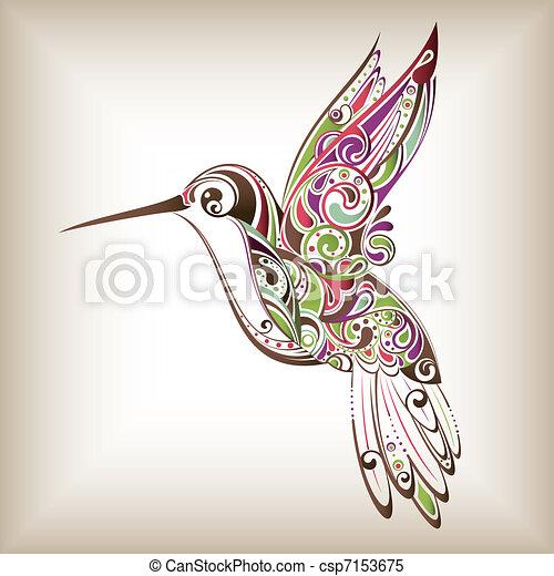 colibrí - csp7153675