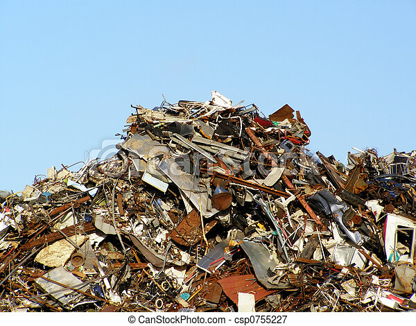 colina, basura - csp0755227