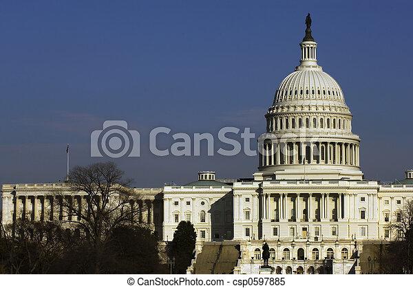 colina de capitol - csp0597885