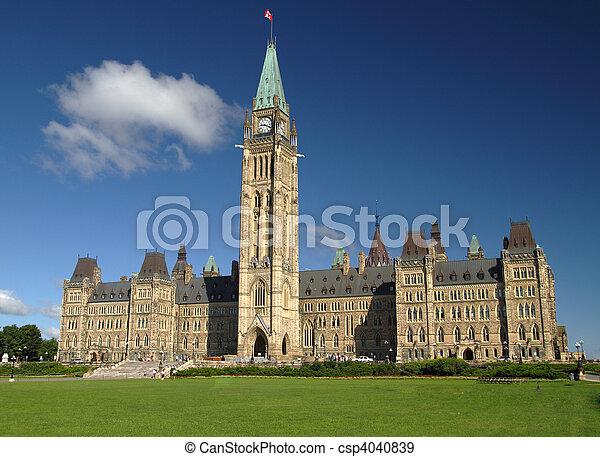 colina del parlamento - csp4040839