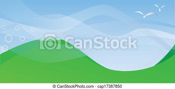 colinas rodantes - csp17387850