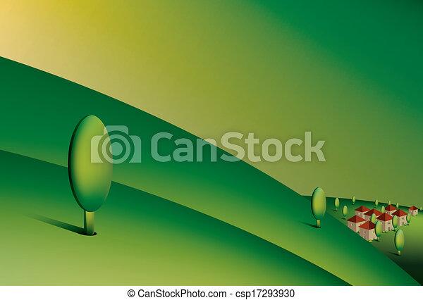 colinas verdes - csp17293930
