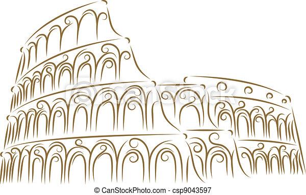 Coliseum - csp9043597