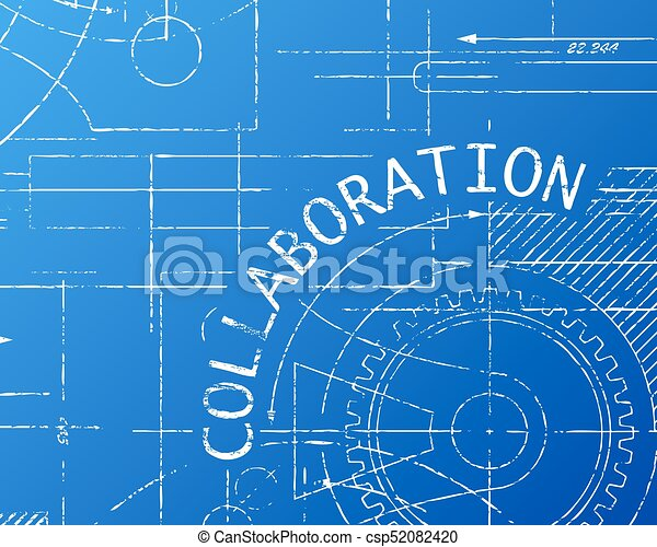 Collaboration blueprint machine collaboration word on machine collaboration blueprint machine csp52082420 malvernweather Gallery