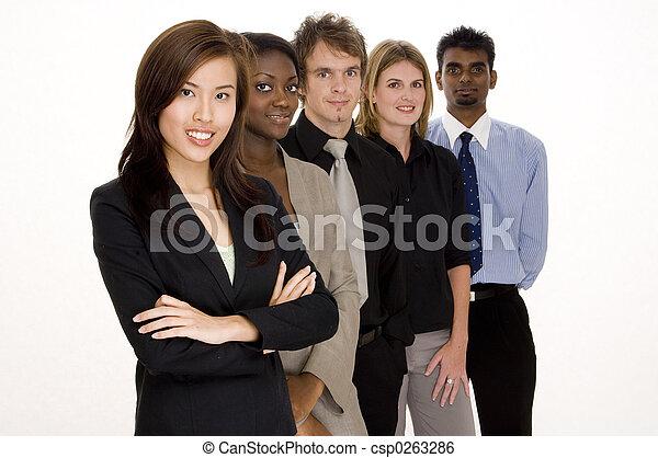 collaboration, business - csp0263286