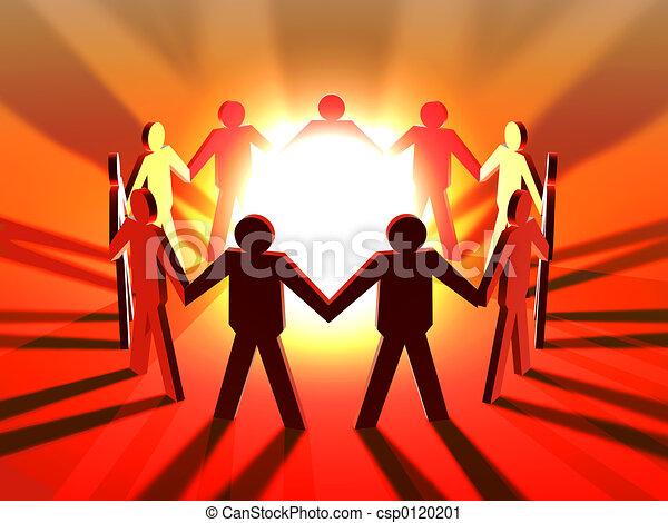 collaboration, puissance - csp0120201