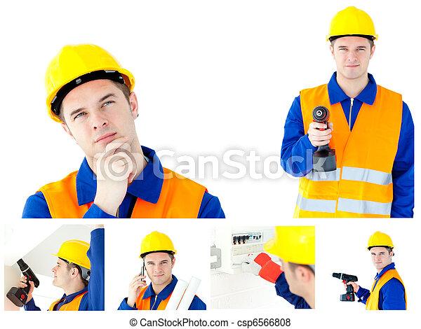El valor de un joven contratista - csp6566808