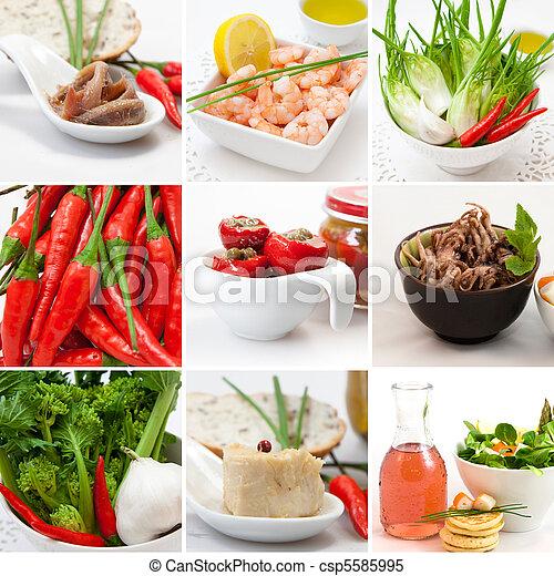 Collage food - csp5585995