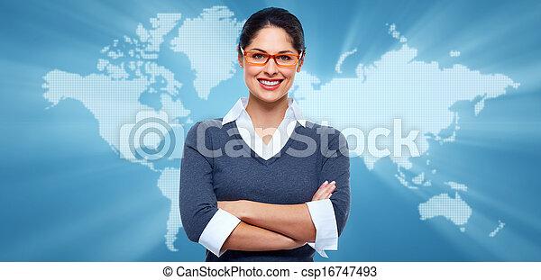 Business Collage Hintergrund. - csp16747493