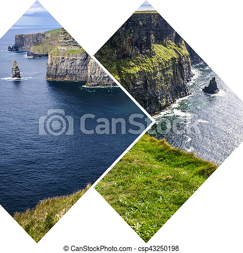 Collage of Ireland images (my photos) - csp43250198