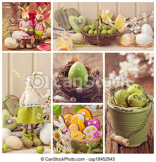collage, ostern - csp18452843