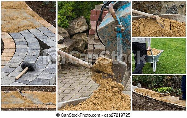 collage path construction - csp27219725